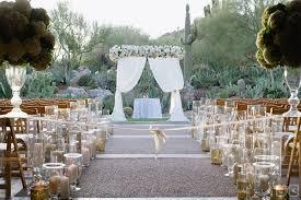 Wedding Backdrop Gold Luxury Weddings Phoenician Resort Cameron U0026 Kelly Studio