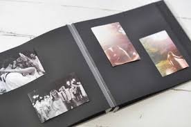 refillable photo albums post bound black page photo album an archival keepsake by blue