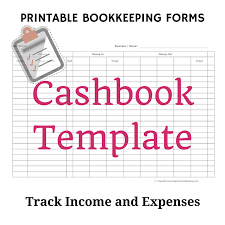 Account Spreadsheet Template Single Entry Bookkeeping