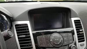 solved chevy cruze gm black screen no display radio mylink