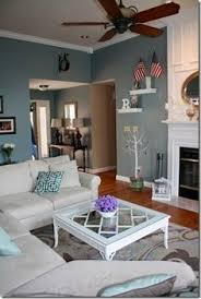 sherwin williams languid blue living room color for the home