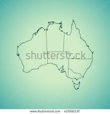 map australia stock vector 293789672 shutterstock