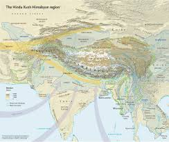 India Physical Map by Climate Atlas Maps Himalayas U0027 Future Scidev Net South Asia