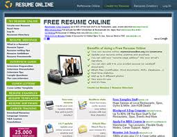 Make My Resume Free Online by Great Websites To Help You Make A Resume Blueblots Com
