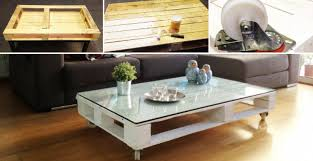 Coffee Table From Pallet How To Make Pallet Coffee Table Diy Crafts Handimania