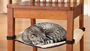 amazon com cat hammock under chair cat bed health u0026 personal care