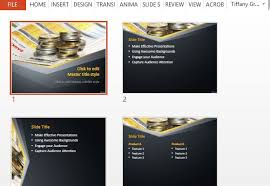 free money powerpoint templates