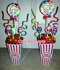 Homemade Table Centerpieces For Parties by Carnival Theme Centerpiece Decor Party Table Cruz Concepts
