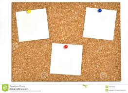 cork board and blank notes stock photos image 24044633