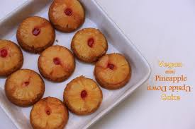 sugar u0026 spice vegan mini pineapple upside down cake