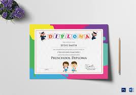 preschool certificates preschool certificate template 12 free word pdf psd format