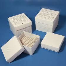 cardboard storage box for 15ml centrifuge