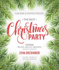christmas party design template vector illustration eps10 royalty