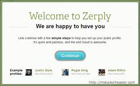 zerply create and track a visually appealing online resume