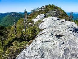 table rock hiking trail table rock summit trail on hikewnc
