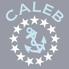 vinyl wall decals stars and anchor