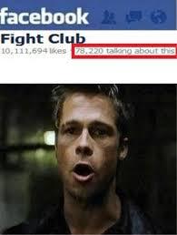 Meme Fight - what happened to the first two rules of fight club meme guy