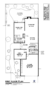 single family gallery home drawn san diego