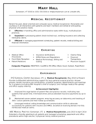 resume exle for receptionist receptionist resume sle dermatology assistant