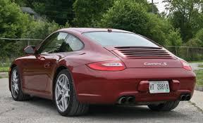 porsche s 2009 2009 porsche 911 s manual take road test car and