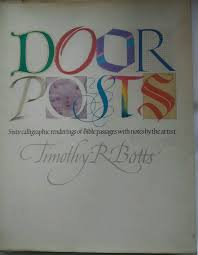 timothy botts prints vgc door posts timothy botts 1986 printing hardcover w dust