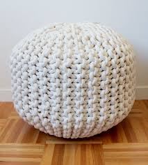 Ottoman Knitted Get 20 Knitted Pouf Ideas On Pinterest Without Signing Up
