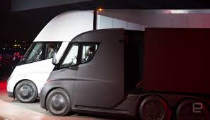 first truck ever made one of tesla u0027s first semi truck buyers is a canadian grocery chain