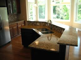 two level kitchen island designs inspiring two level kitchen island tops height ideas with
