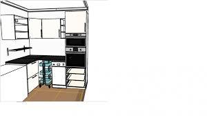 hauteur meuble haut cuisine plan de travail meuble plan travail cuisine trendy hauteur haut distance de