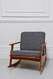 Dora Rocking Chair Mid Century Rocking Chair In Timber Urban Outfitters Home Is