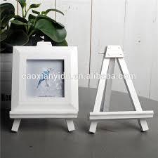 bureau trepied blanc trépied en bois créative bureau décoration cadre photo