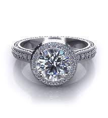 Halo Wedding Rings by Halo Engagement Rings Jewelry Designs
