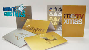 diy xmas u2013 create your own bespoke metallic christmas cards the