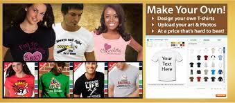 make your own custom t shirts cheap no minimums on printing