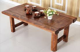Table With Folding Legs Aliexpress Com Buy Vintage Furniture Wooden Table Folding Legs