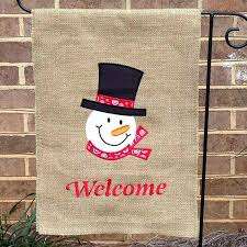 Home Interiors Baked Apple Pie Candle Snowman Garden Flags Burlap Garden Flag By On Home