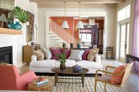 mid century modern eclectic living room liberty interior