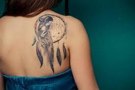 bird dreamcatcher tattoos for