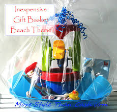 how to make a gift basket inexpensive gift basket theme