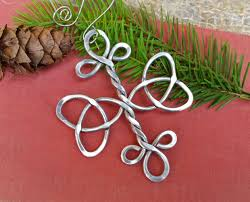 Celtic Home Decor Celtic Trinity Knot Cross Ornament Christmas Ornament