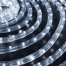 Outdoor Led Rope Lighting 120v Le 150ft 110 120v Ac Led Rope Lights Kit 6000k