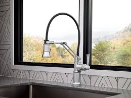 articulating kitchen faucet single handle articulating kitchen faucet 63225lf pc artesso