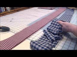 how to make country christmas tree garland with homespun fabric