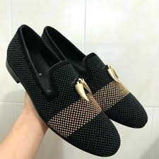 orthotic slippers for women rhinestones black suede men loafers