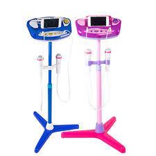 kids karaoke machine ebay