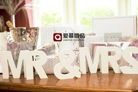 mr mrs wedding table decorations mr mrs letter decoration white color letters wedding and bedroom