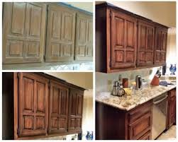 Stained Kitchen Cabinets Gel Stain Kitchen Cabinets Git Designs