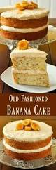 simple banana cake recipe with bonus easy caramel icing recipe