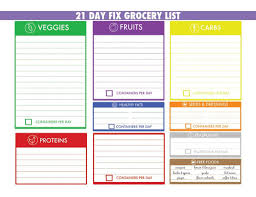 camping menu planner template 21 day fix meal tracker and grocery list autumn calabrese your partner in health