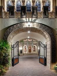 14 000 square foot naples mansion with magnificent gated courtyard